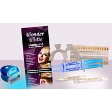 En el hogar Profesional 3-D de los dientes kit de blanqueamiento