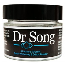 Dr Song All Natural Charcoal Teeth Whitening and Tooth Gum Powder Coconut Activated Charcoal