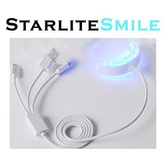 16 LED Teeth Whitening Light for iPhone, Android & USB. Works w/ any Teeth Whitening Gel or Teeth Whitening Strips for Pro