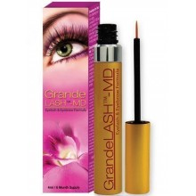 GrandeNaturals MD 6 Month Supply Grandelash Eyelash Enhancing Serum, 0.14 Ounce