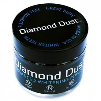 Dents de charbon actif en poudre de blanchiment par Diamond Dust - Combat Taches et la mauvaise haleine, Detox Your Mouth Nature