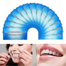 Para blanquear los dientes EZGO Supreme tiras 28 Conde-14 Días de clase, para blanquear los dientes blanqueadoras, expreso con W