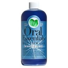 Esencial Oral Blanqueamiento de dientes enjuague bucal 16 oz. Para uso diario Sin Sensibilidad: dentista Formulado y certificada