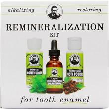 Kit para la remineralización del esmalte dental y Minerales (1 kit)