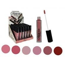 Set of 6 Colors Madly MATTE Lipgloss Bold & Vivid Color Matte Lipgloss Set Number 1