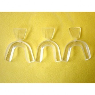 DIY (hágalo usted mismo) moldeable Thermofitting Teeth Whitening Trays- 3 bandejas