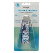 Tongue Cleaner Dr. Tung, en acier inoxydable (les couleurs peuvent varier)