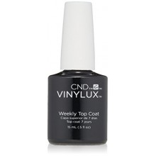 CND Vinylux Weekly Top Coat Vernis à ongles, 0,5 oz