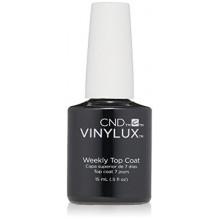 CND Vinylux semanal Top Coat Esmalte de uñas, 0,5 oz