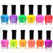 Kleancolor COULEURS NEON 12 COLLETION FULL SET VERNIS VERNIS + OREILLES GRATUIT par Kleancolor