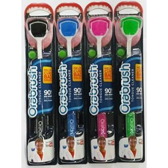 Orabrush Tongue Cleaner - 4 Brosses