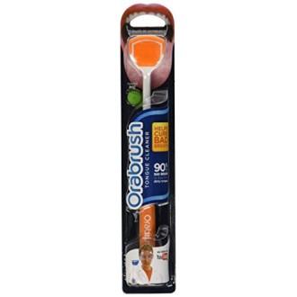 1 pack Orabrush Tongue Cleaner Scraper