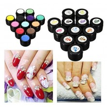 3D UV Manicure Gel Sculpture Design Nail Art Tip Glue Creative Decoration 12 Colors (Color:3) by Lovestore2555