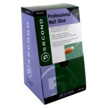 Ibd 5 Second Professional Nail Glue, 0.07 oz (Pack of 12)