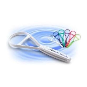 6 Pureline limpiador de lengua raspador Oralcare colores varían juego de 6