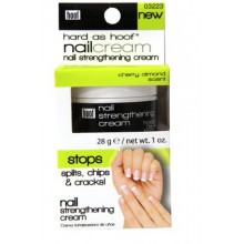 Hard As Hoof Nail Renforcement Crème Cherry Almond Scent Nail Fortifiant & Nail Growth Cream Prévient Splits, Chips,