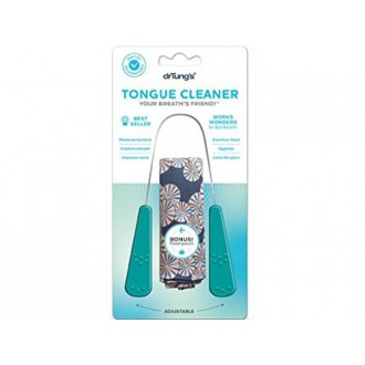 Stainless Steel Tongue Cleaner 1 de ea du Dr Tung (Pack de 2)