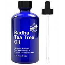 Tea Tree Essential Oil - Big 4 oz - 100% Pure & Natural Melaleuca Therapeutic Grade - PREMIUM QUALITY from Australia for