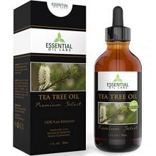 El aceite del árbol del té - Grado Terapéutico 45% terpineno-4-ol (Australia) - 1 fl oz con vidrio con gotero - Premium Select a