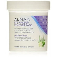 Almay Oil Eye gratuit PADS Makeup Remover, 80 Count