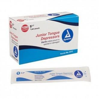 JUNIOR TONGUE DEPRESSORS 100