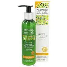 Andalou Naturals Revitalizing Lash Plus Lid Make-Up Remover, 6 Fluid Ounce