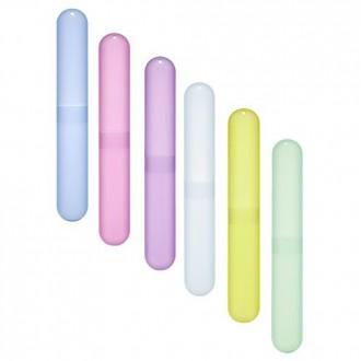 BLUECELL Pack de 6 diverso color caja de plástico / soporte para el diario y del recorrido del cepillo de dientes