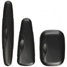 Kit Case Voyage RADIUS pour brosse à dents / rasoir / Savon, Perle de Caviar (Pack de 3)