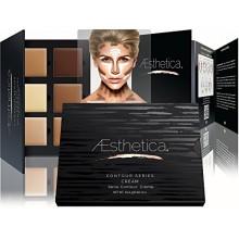 Aesthetica Cosmética Crema Contorno y Destacando Kit de maquillaje - Contorno Fundación / Concealer - vegano, crueldad