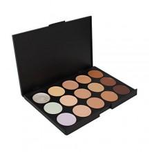 Anself 15 colores profesional del maquillaje de la gama de colores Caliente