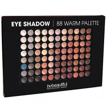 Bebeautiful Eyeshadow 88 Palette Ombres, chaud