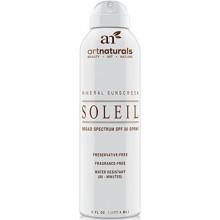 Naturals arte SPF 30 de amplio espectro Sunscreen Spray 6 oz -Agua resistentes 80 Minutos - Con la mejor Naturales y Orgánicos