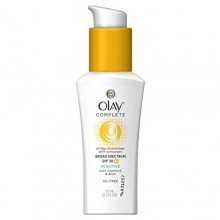 Olay Complete Daily Defense All Day Moisturizer With Sunscreen SPF30 Sensitive Skin, 2.5 fl. Oz., (Pack of 2)