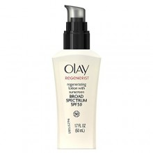 Olay Regenerist Regenerating Face Lotion With Sunscreen Broad Spectrum SPF 50, 1.7 Fl Oz