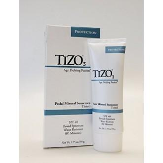 Tizo 3 Facial mineral sunscreen tinted, spf 40 ,Age defying fusion - 1.75oz
