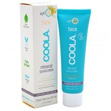 Coola Mineral Cuidado Solar, sin perfume Mate Tinte Cara Protector solar, FPS 30, 1.7 fl. Onza, Mineral BB crema, beige natural