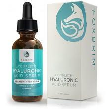 Acide Hyaluronique Sérum - Pure Acide Hyaluronique Sérum à la vitamine C - Ingrédients naturels thé vert, vitamine E, huile de j