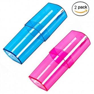 Organisateur Voyage Portable DB.WOR Toothbrush plastique Boîte de rangement & Dentifrice Grand Case Capacité et Wash Coupe g