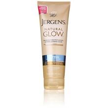 Jergens Natural Glow Hidratante Reafirmante, justo a la piel Medium Tonos 7,5 onzas