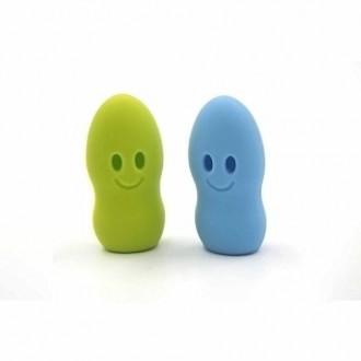 2 Pcs Portable silicone anti-bactérien Couvercle Brosse à dents Tête de couverture pour Voyage Camping Activités de plein air co