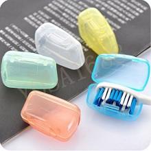 Yosa 10 x portátil cepillo de dientes titular caso de la cubierta del casquillo que va de excursión Cepillo Viaje Proteja