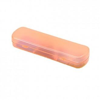 QiaoShiRen portátil de viaje Cepillo de dientes Pasta de dientes de color Caja de almacenamiento Radom