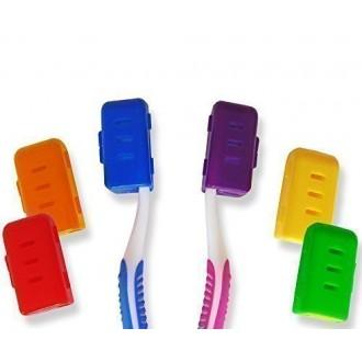 La estética dental Cepillo de dientes Reino Unido cubierta (Conjunto de 6 colores)