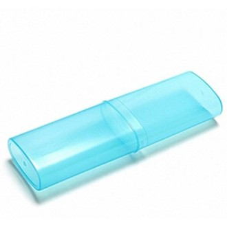 Voyager Portable Camping Randonnée Toothbrush Box Case Dentifrice Stockage / support, 3 Pcs