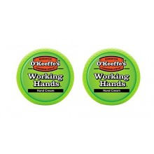 O'Keeffe's Working Hands Hand Cream, 3.4 oz., Jar, (Pack of 2)