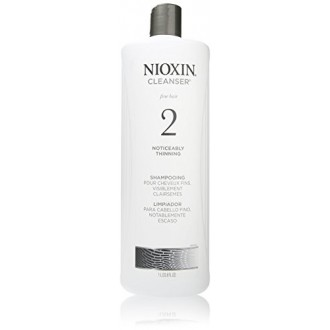 Nioxin Cleanser, System 2 (Fine / Sensiblement Dilution) shampooing, 33,8 Ounce