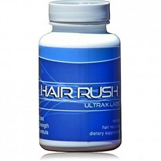 Ultrax Labs Hair Rush DHT blocage Perte de cheveux Maxx croissance des cheveux des éléments nutritifs solubilisé kératine Supplé