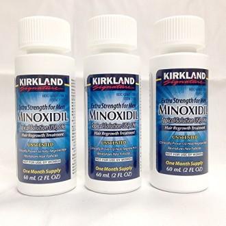 Kirkland Signature 5% Minoxidil Hair Regrowth for Men - 3 Month Supply