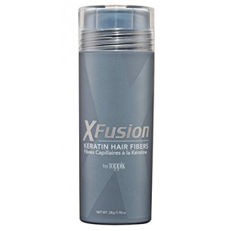 Fibres XFusion Economie Keratin Hair, Medium Brown 28g