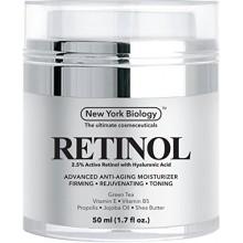 Rétinol Crème Hydratant avec de l'acide hyaluronique - Daily Crème hydratante aide à combattre les signes du vieillissement et s